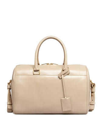 Small Duffel Saint Laurent Bag, Beige