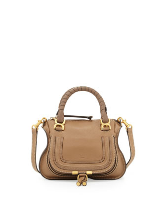 Marcie Mini Shoulder Bag, Nut