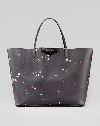 Antigona Large Confetti-Print Shopper Bag