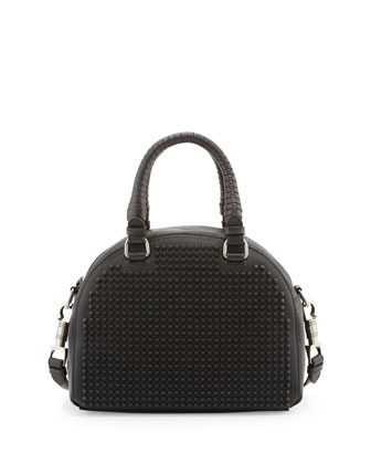 Panettone Small Studded Satchel Bag