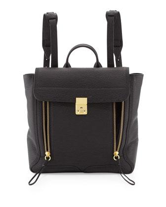 Pashli Zip Backpack, Black