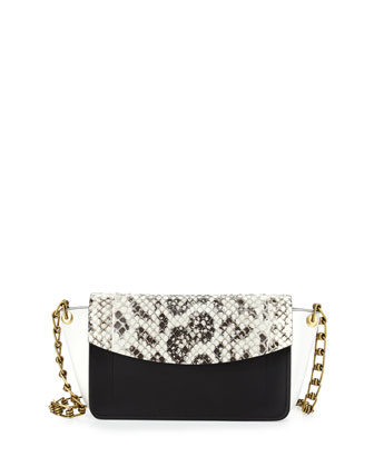 Ew Anarchy Anaconda Colorblock Shoulder Bag ag