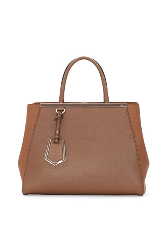 2Jours Tote Bag, Brown