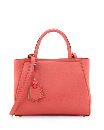 2Jours Mini Shopping Tote Bag, Pink