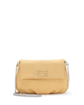 Fendista Pochette Crossbody Bag, Yellow