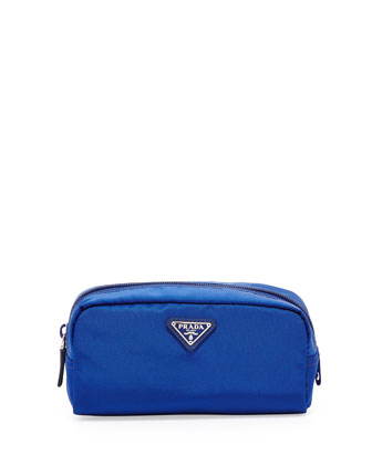 Vela Cosmetic Bag, Blue (Bluette)