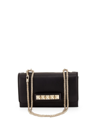 Va Va Voom Flap Crossbody Bag, Black