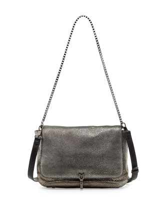 Cynnie Razza Crossbody Bag, Gunmetal