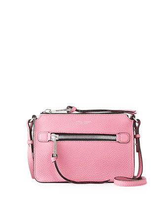 Big Apple Pochette Crossbody Bag, Pink