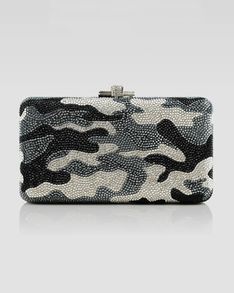 Airstream Camouflage Clutch Bag, Jet Multi