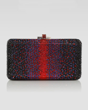 Airstream Large Ombre Clutch Bag, Red