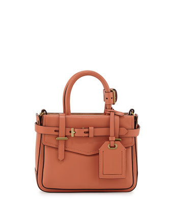 Boxer Micro Tote Bag, Orange