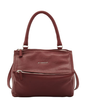 Pandora Small Sugar Satchel Bag, Red