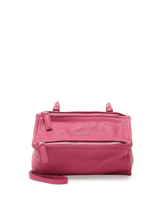 Pandora Mini Sugar Crossbody Bag, Fuchsia