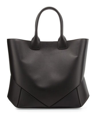 Easy Origami Tote Bag, Black