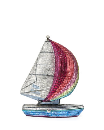 The James Crystal Sailboat Minaudiere