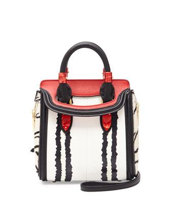 Heroine Mini Snake Satchel Bag, Multi Colors