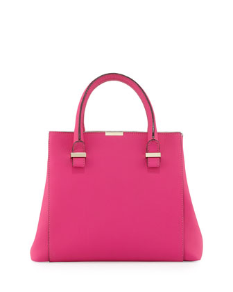 Liberty Structured Tote Bag, Pink