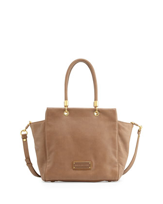 Too Hot to Handle Bentley Tote Bag, Praline