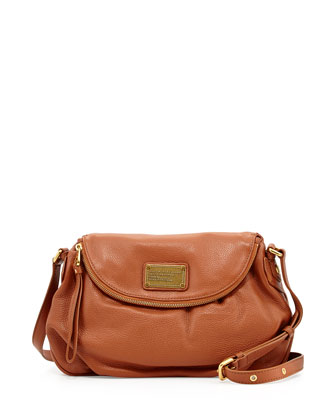 Classic Q Natasha Crossbody Bag, Smoked Almond