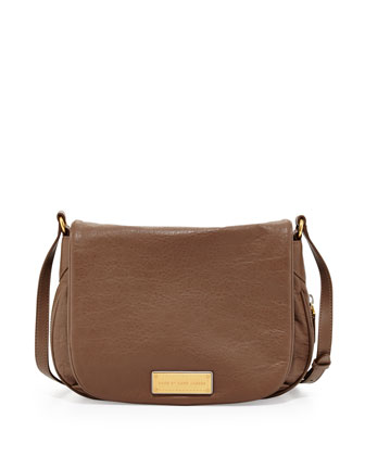 Washed Up Nash Crossbody Bag, Brown Earth