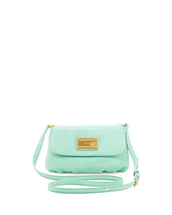 Classic Q Percy Flap Crossbody Bag, Minty