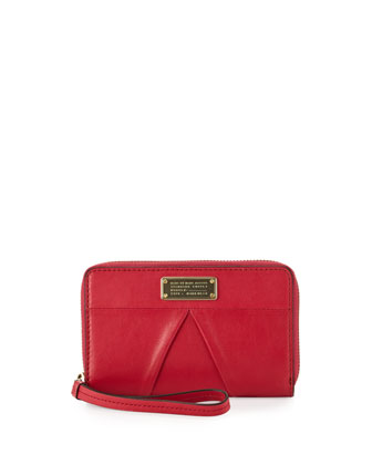 MARChive Mildred Wristlet Wallet, Raspberries