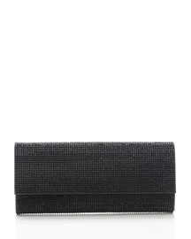 Ritz Fizz Crystal Clutch Bag, Silver Jet