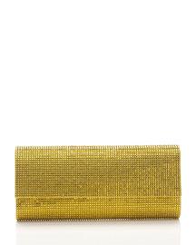 Ritz Fizz Crystal Clutch Bag, Silver Sunflower