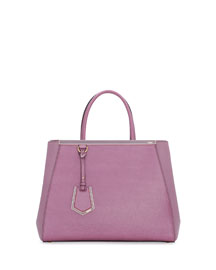 2Jours Saffiano Shopping Tote Bag, Lilac