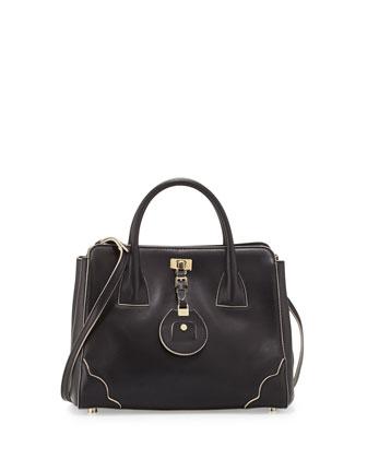 Jourdan 2 Petite Tote Bag, Black