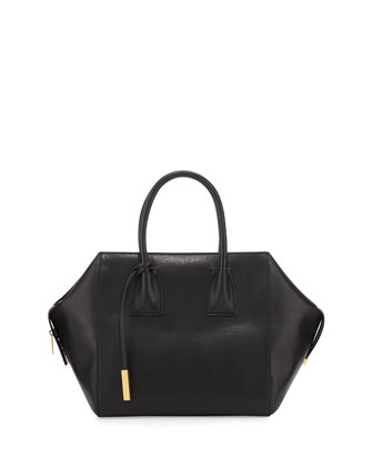 Beckett Boston Shopper Tote Bag, Black