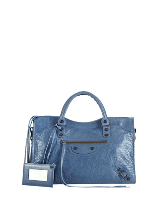 Classic City Bag, Denim Blue
