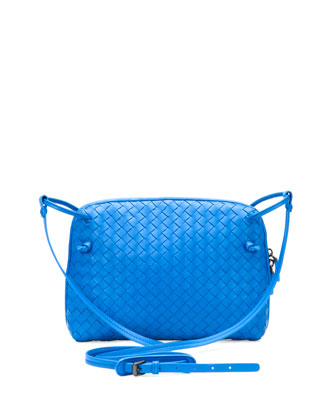 Veneta Small Crossbody Bag, Cobalt Blue