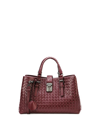Roma Leggero Tote Bag, Dark Purple