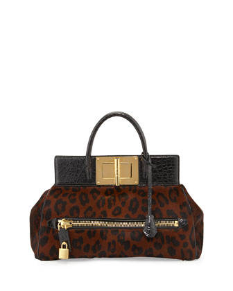 Natalia Pony & Alligator Doctor Bag