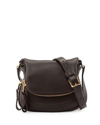 Jennifer Mini Crossbody Bag, Brown