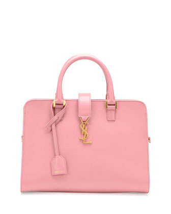 Monogramme Small Zip-Around Satchel Bag, Pink