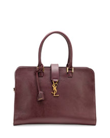 Monogramme Small Zip-Around Satchel Bag, Bordeaux