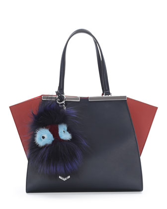 Fur Monster Charm for Handbag
