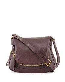 Medium Shoulder Bag, Bordeaux