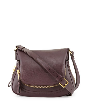 Medium Shoulder Bag, Bordeaux