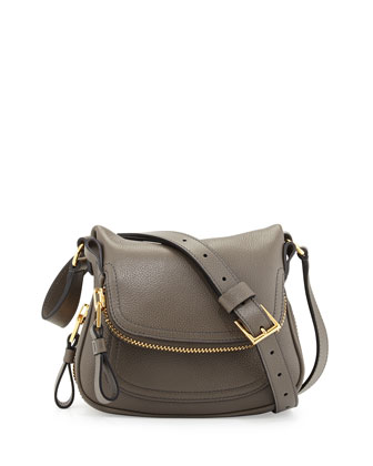 Jennifer Mini Crossbody Bag, Graphite