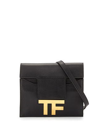 Small Hidden-TF Crossbody Bag, Black