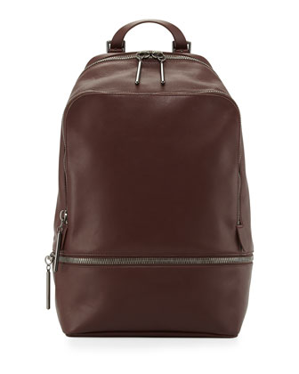 31-Hour Zip-Around Backpack, Mahogany