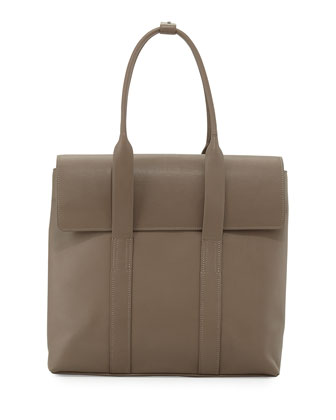 31-Hour Medium Satchel Bag, Clay
