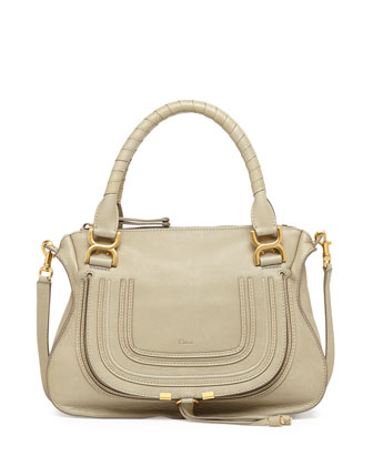 Marcie Medium Shoulder Bag, Light Green