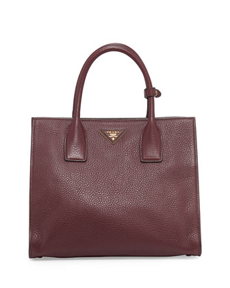 Daino Tote Bag, Bordeaux (Granato)