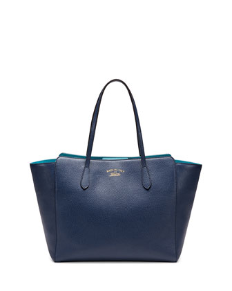 Medium Swing Tote Bag, Navy