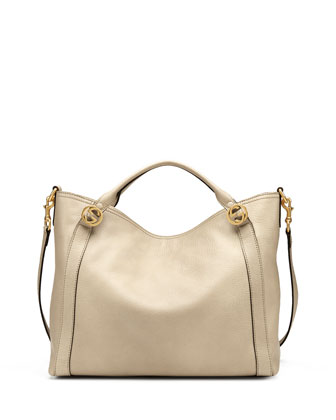 Miss GG Medium Tote Bag, Beige